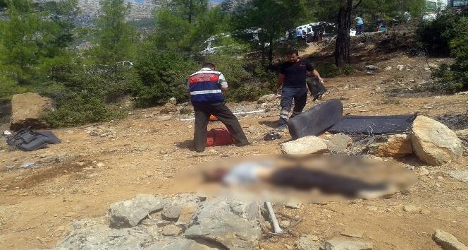 Karaman'da işçileri taşıyan minibüs uçuruma yuvarlandı: 1 ölü, 6 yaralı
