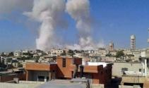 Rejim uçakları hastane ve okul vurdu