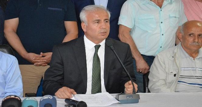 """AK Parti İl Başkanı Akçay: """"Aday olmama kararı aldım"""""""