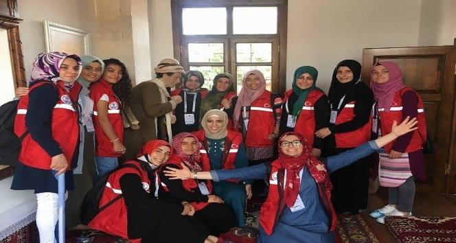 Damla projesi gönüllüleri Karaman'da