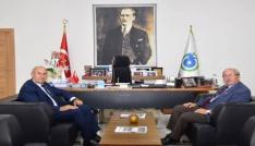 Başkan Albayrak, AK Parti Milletvekili Akgünü ağırladı