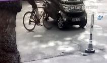 Sarıyerde profesyonel bisikletçi ölümden döndü