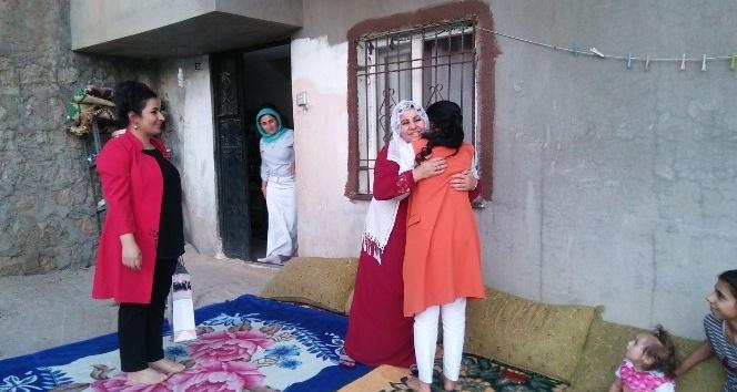 AK Parti Kadın Kolları gazileri ziyaret etti