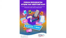 Forum Erzurumda atışını yap, hediyeni kap