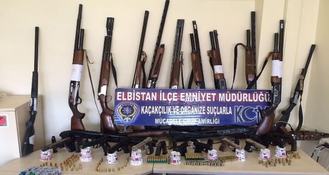 Kahramanmaraş'ta kaçak silah operasyonu: 26 gözaltı