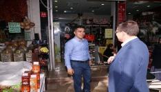 Başkan Subaşıoğlu Kaleiçini ziyaret etti