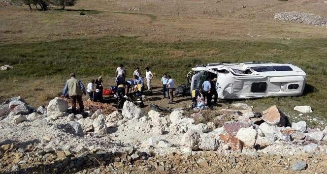 Kütahyada trafik kazası: 7 yaralı