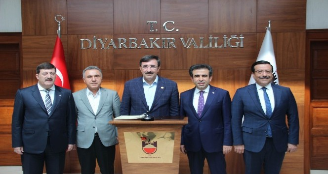 Yılmaz, Diyarbakırda incelemelerde bulundu