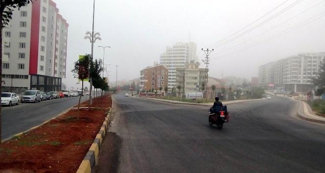 Kilis'te sis etkili oldu