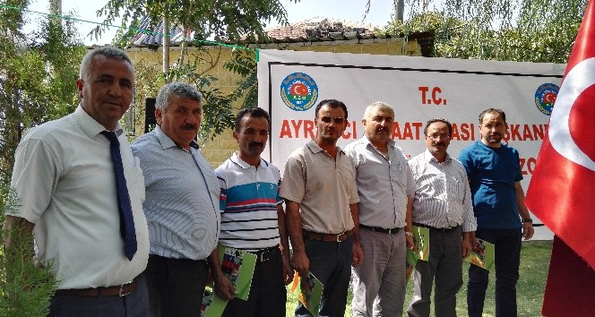 Ayrancı ilçesinde 23 köye helezon dağıtıldı