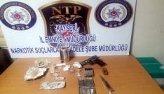 Kayseride uyuşturucu operasyonu: 4 gözaltı