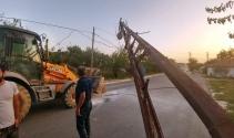 Hafriyat kamyonu ortalığı savaş alanına çevirdi