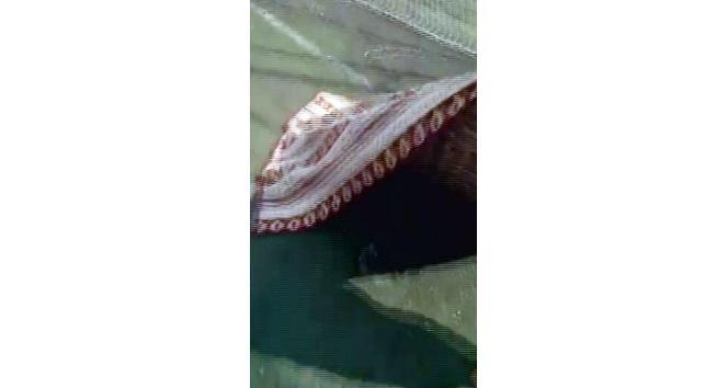 Sahadaki çukurlara battaniyeli tepki