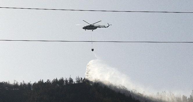 Karabük'teki orman yangını 8 saat sonra kontrol altına alındı