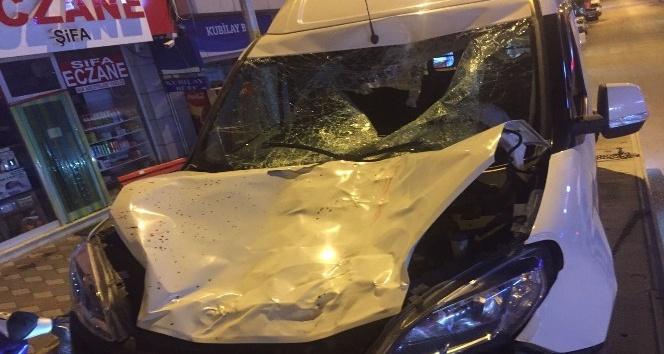 Kargı'da trafik kazası