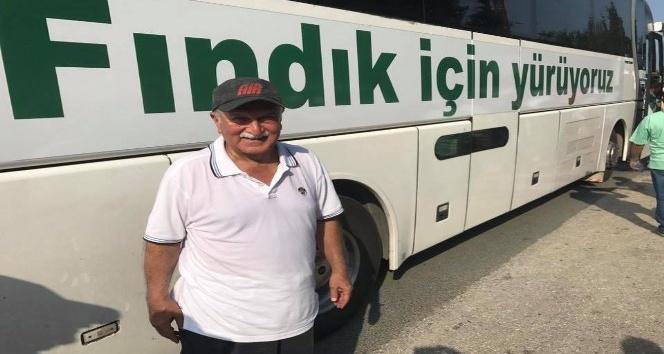 CHP Milletvekili Bektaşoğlu fındık yürüyüşünü değerlendirdi