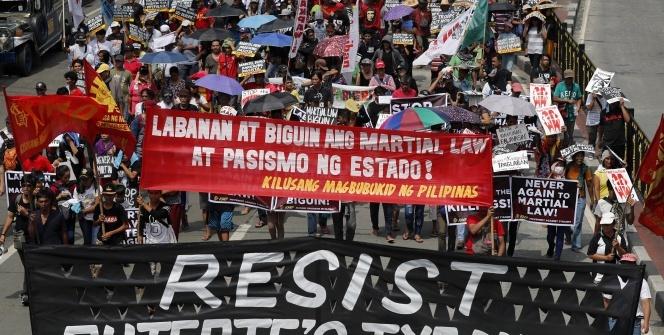 Filipinler'de ilk Ulusal Protesto Günü gerçekleşti