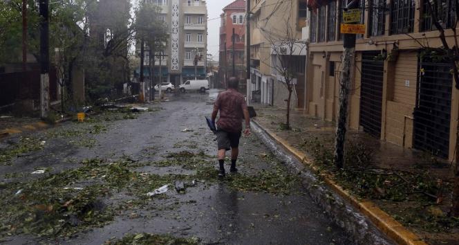 Maria Kasırgası Porto Rikoyu yıktı