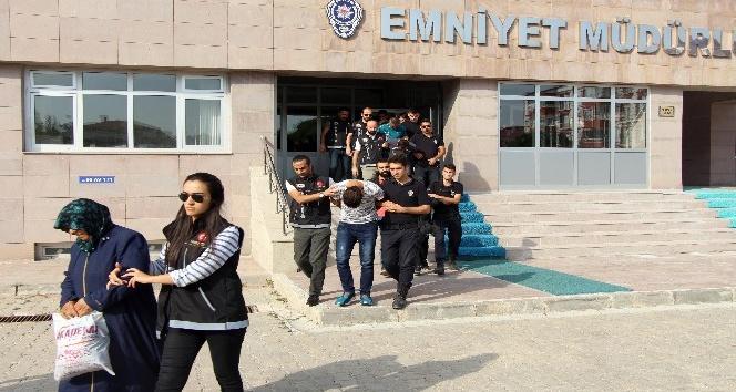 Yozgat'ta uyuşturucu operasyonu: 8 tutuklama