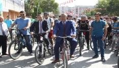 Çankırıda Avrupa Hareketlilik Haftası bisiklet turu