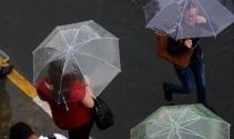 İstanbulda yağmur başladı!