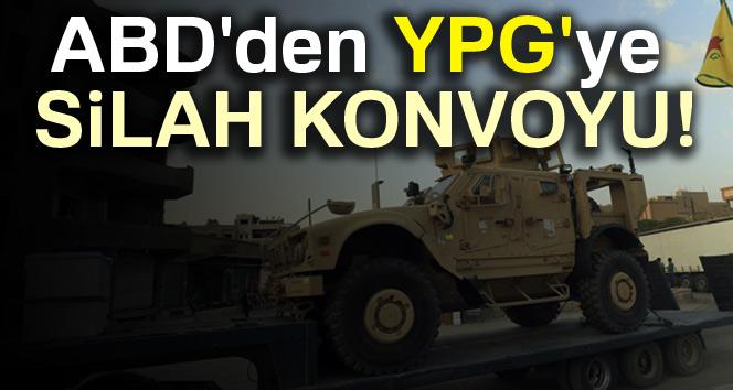 ABD'den YPG'ye silah konvoyu