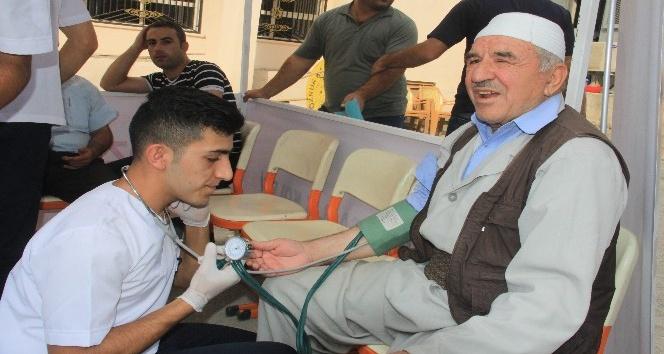 Hakkari'de sağlık taraması