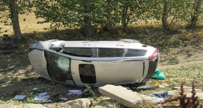 Afyonkarahisar'da trafik kazası: 4 yaralı