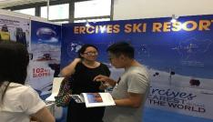Erciyes, Çinde düzenlenen Dünya Kış Sporları Fuarında görücüye çıktı