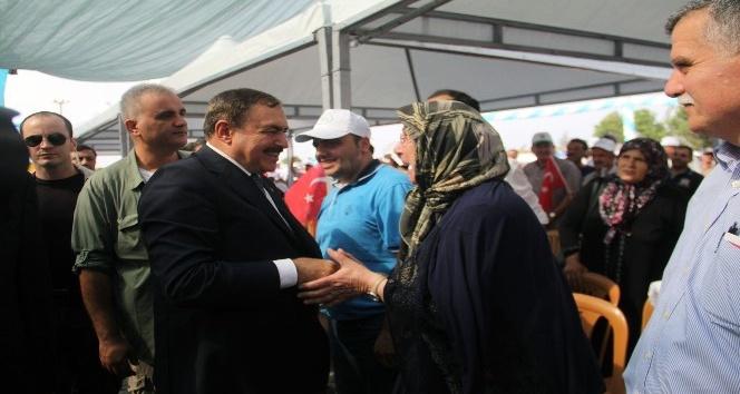 Orman ve Su İşleri Bakanı Veysel Eroğlu Giresun'da