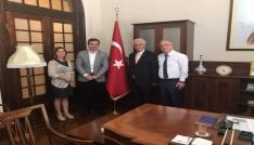 Başkan Yemenici Müzeler Genel Müdürünü ziyaret etti