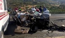 Elazığda feci kaza: 3 ölü, 1 yaralı