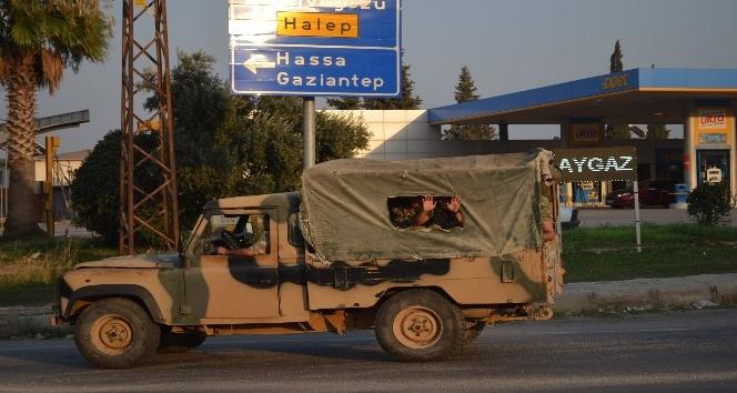 Cilvegözü'ne askeri araç sevkiyatı