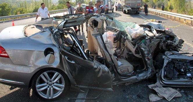 Feci kazada ölenlerden birinin polis olduğu ortaya çıktı