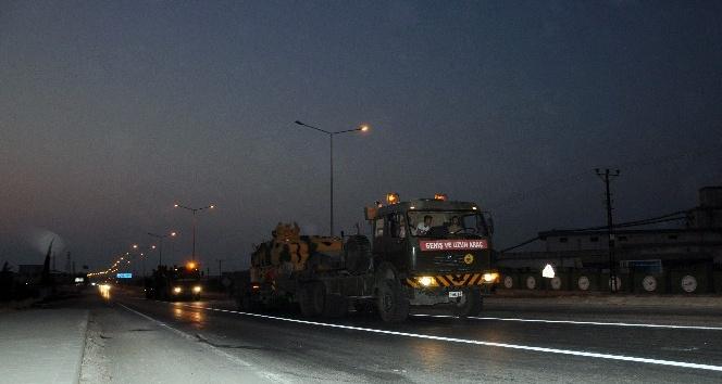 Suriye Sınırına Zırhlı Araç Sevkiyatı devam ediyor