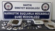 Bartında uyuşturucu operasyonu: 2 gözaltı