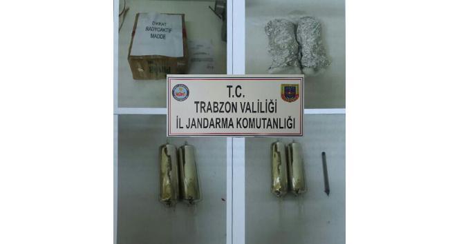 Trabzonda kimyasal silahlarda kullanılan 600 gram sezyum maddesi yakalandı