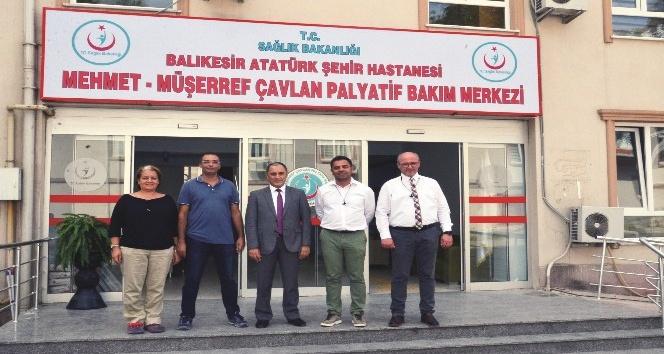 Türkiyenin en büyük Palyatif Bakım Ünitesi Balıkesirde açılıyor