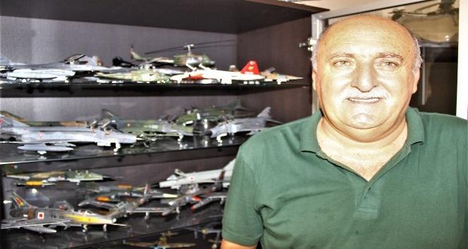 Türk havacılık tarihine imza atan uçakların modellerini yapıyor