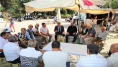 Başkan Şirin matem çadırını ziyaret etti