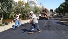 Salihlide 114 kilometre yol asfaltlandı