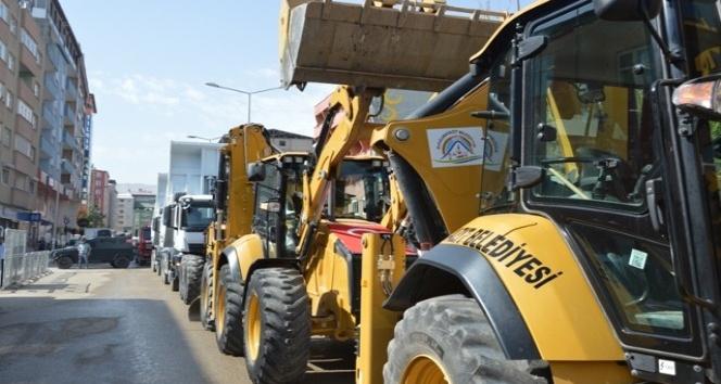 Doğubayazıt Belediyesine 15 araç alındı