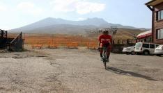 (Özel Haber) Cumhurbaşkanlığı Bisiklet Turuna Erciyeste hazırlanıyor