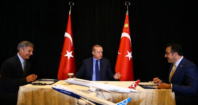 THY 40 adet 787-9 Dreamliner uçak için görüşmelere başladı