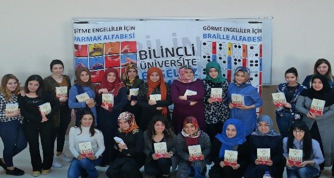 KMÜ öğrencilerine işaret dili kursu