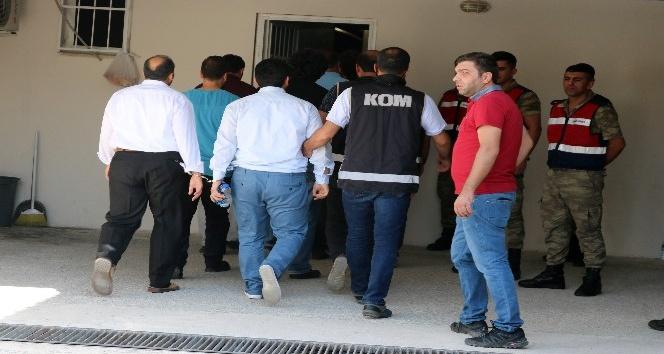 Elazığ'daki FETÖ operasyonu: 13 kişi tutuklandı, 12 şüpheli daha adliyeye sevk edildi