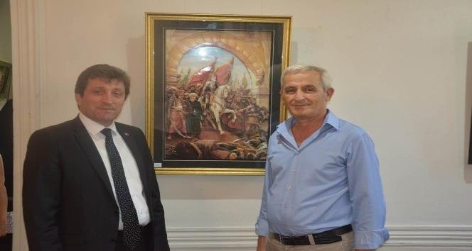 Osmanlı Katı Sanatı ve Üç Boyutlu Kabartma Tablolar Sergisi açıldı