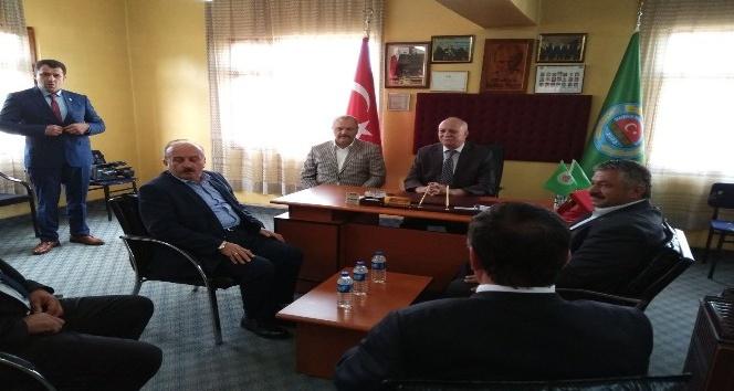Ziraat Odası Genel Başkanı Bayraktar, Kastamonu'yu ziyaret etti