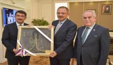 Şehzadelerin dönüşüm projesi Bakan Özhasekiye sunuldu