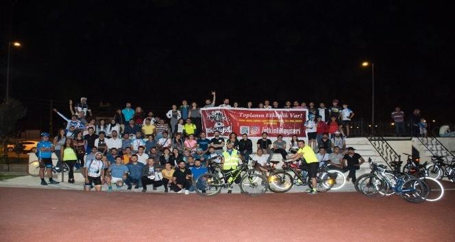 Perşembe Akşamı Bisikletçileri 192inci turunu tamamladı